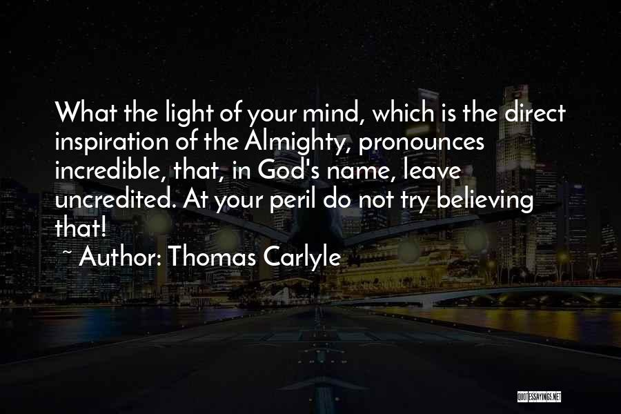 Thomas Carlyle Quotes 1807812