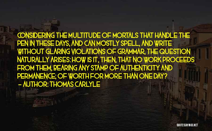 Thomas Carlyle Quotes 2148807