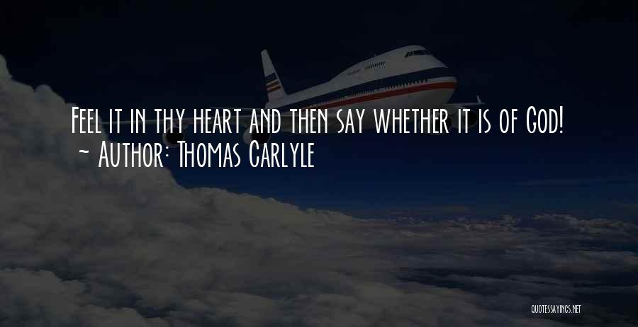 Thomas Carlyle Quotes 276632