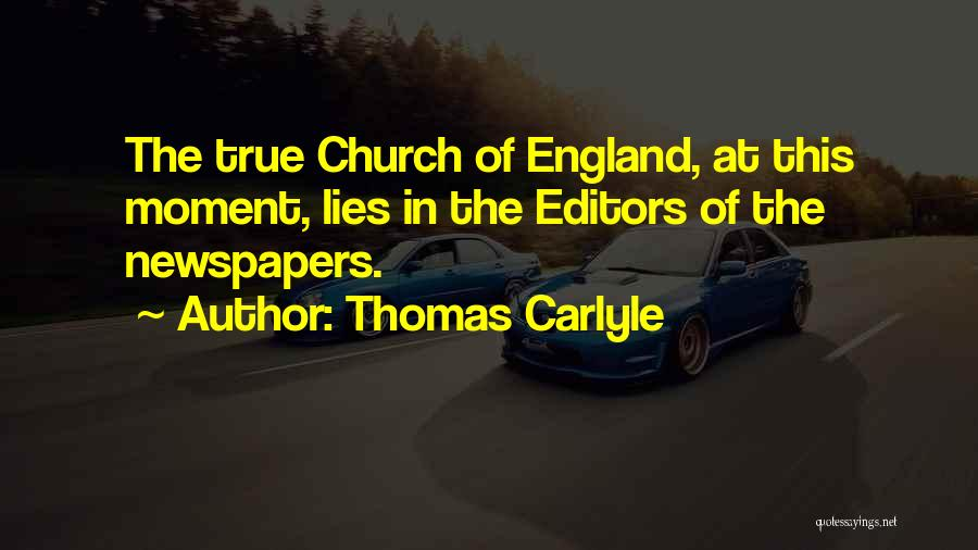 Thomas Carlyle Quotes 416775