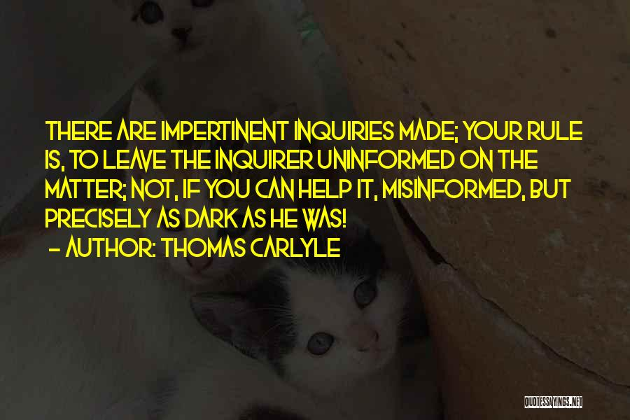 Thomas Carlyle Quotes 621603