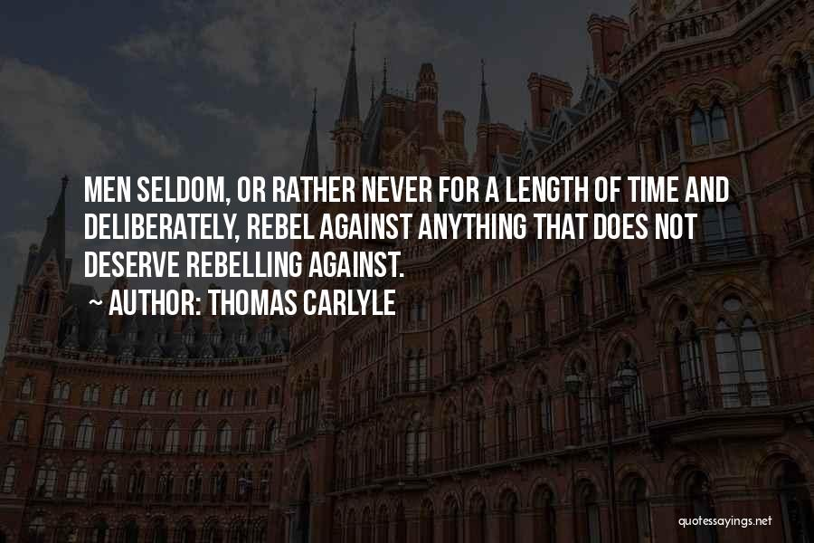 Thomas Carlyle Quotes 824544