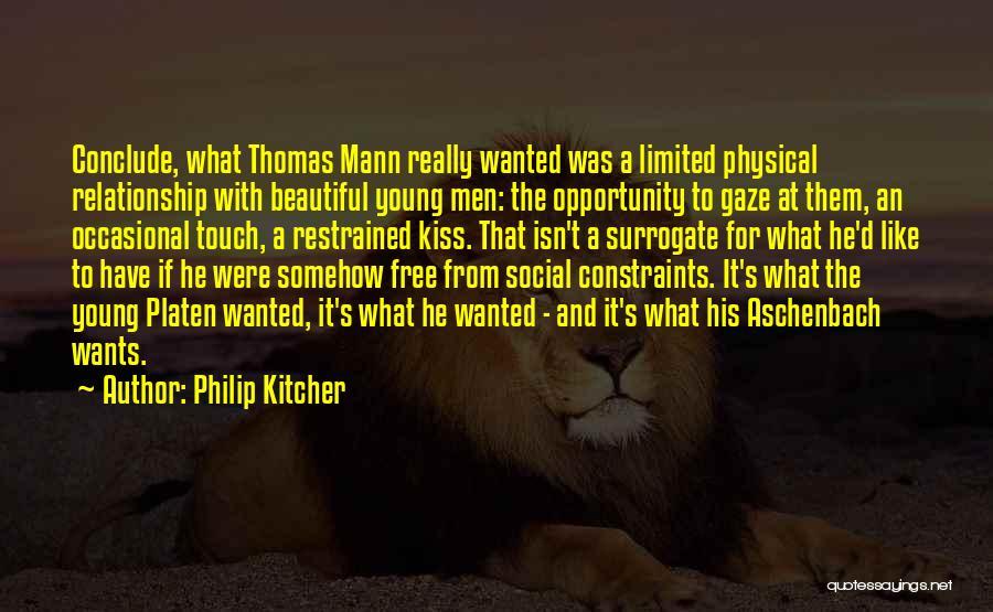 Thomas D'aquino Quotes By Philip Kitcher