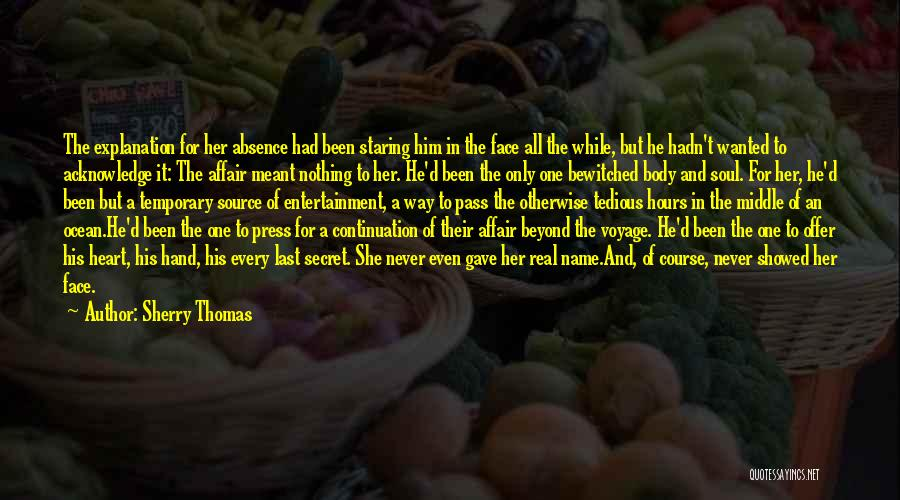 Thomas D'aquino Quotes By Sherry Thomas