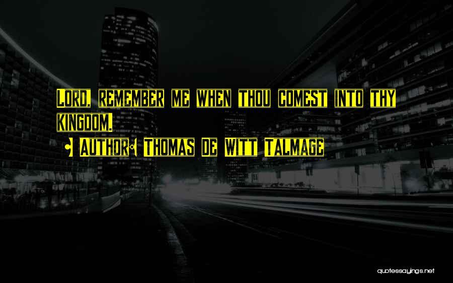 Thomas De Witt Talmage Quotes 1073581