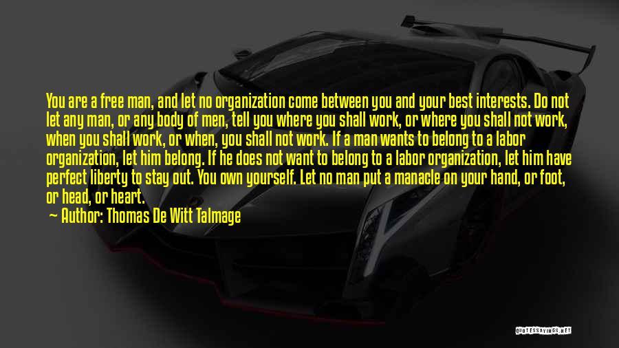 Thomas De Witt Talmage Quotes 1673109