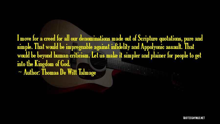 Thomas De Witt Talmage Quotes 2192649