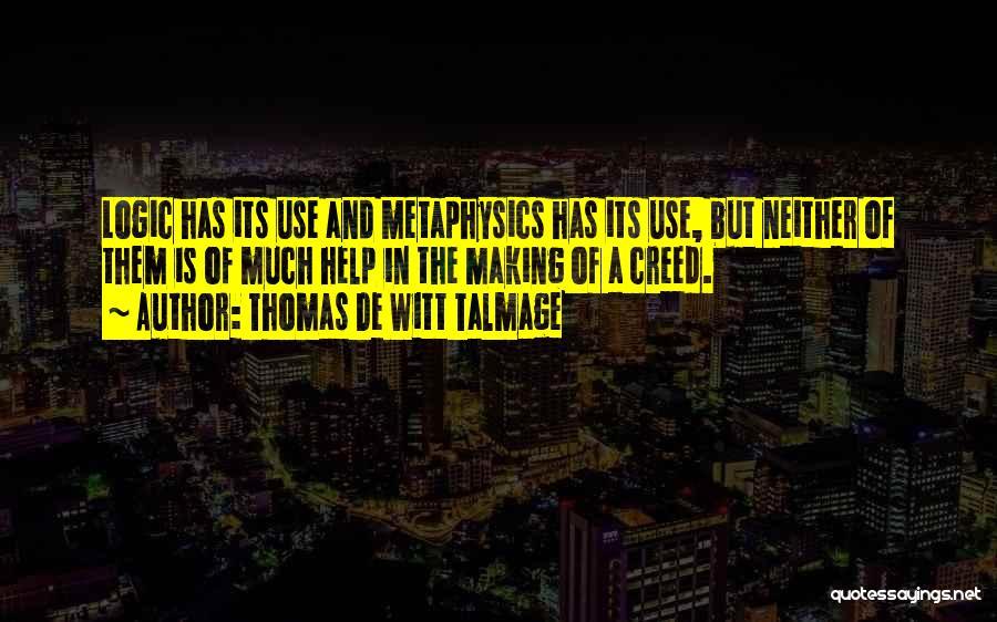 Thomas De Witt Talmage Quotes 83383