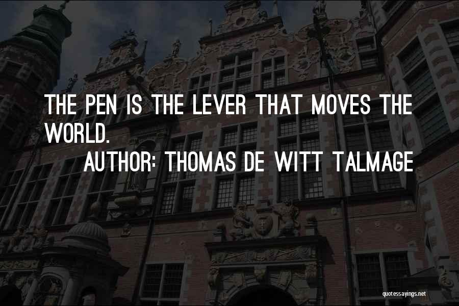 Thomas De Witt Talmage Quotes 987076