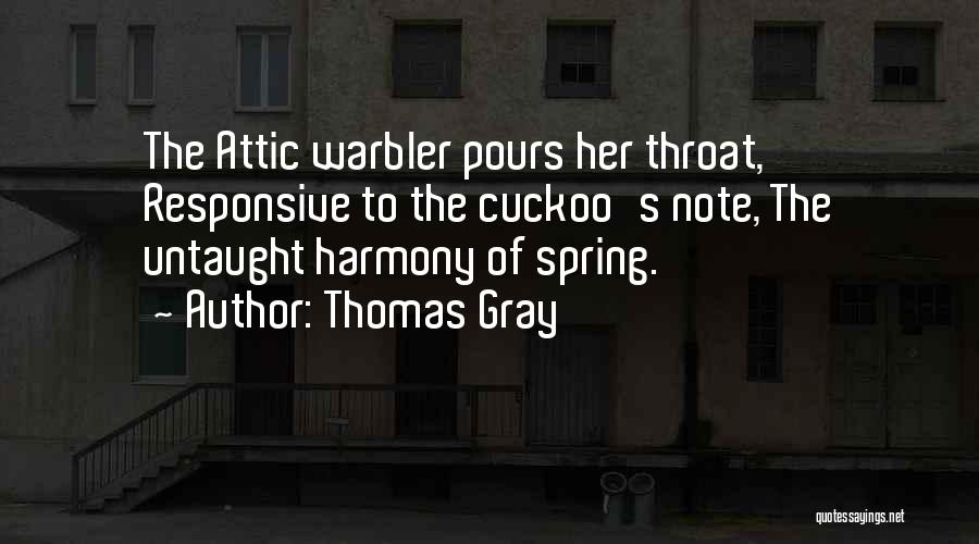Thomas Gray Quotes 1151413