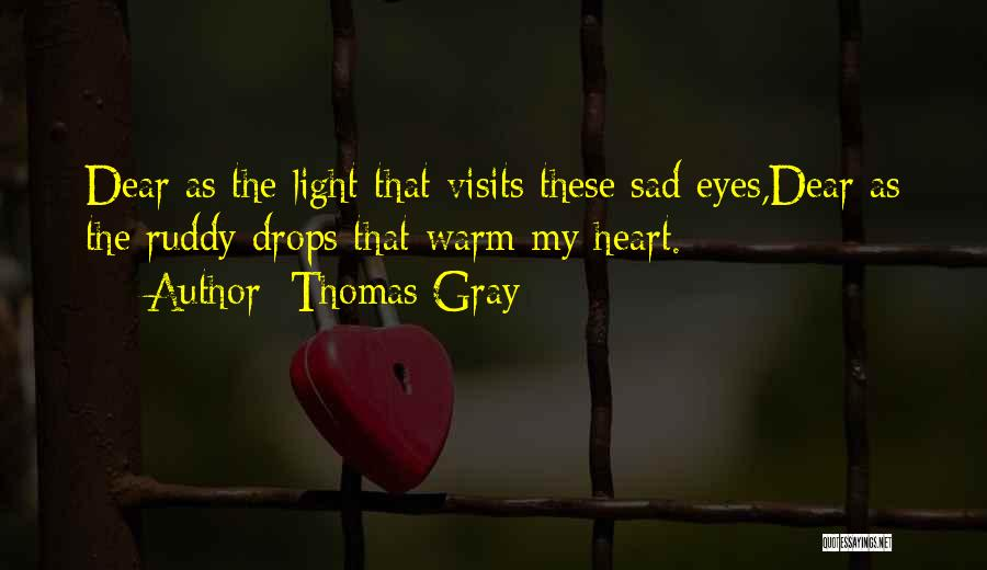 Thomas Gray Quotes 119232