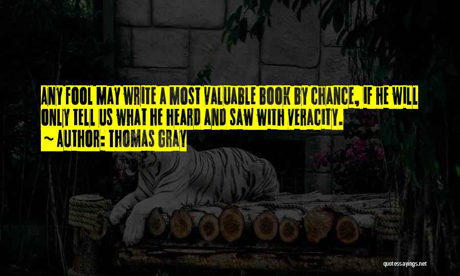 Thomas Gray Quotes 1365940
