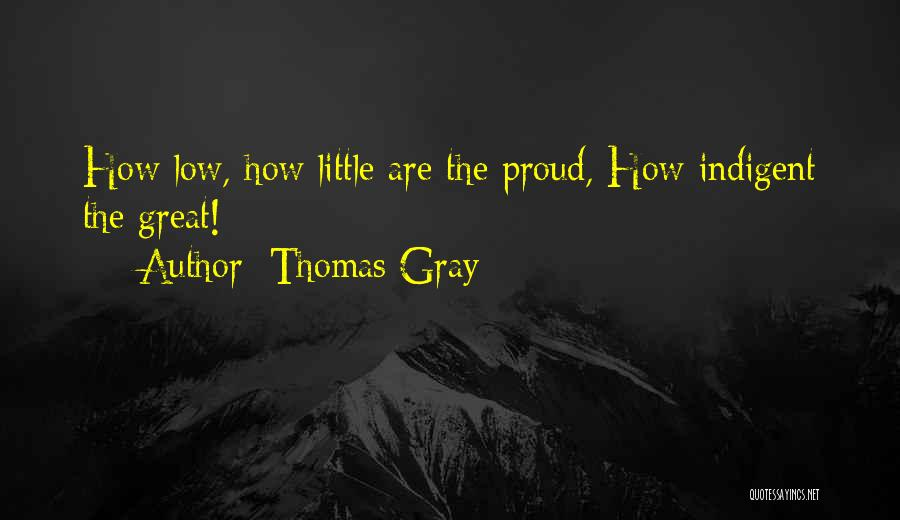 Thomas Gray Quotes 146194