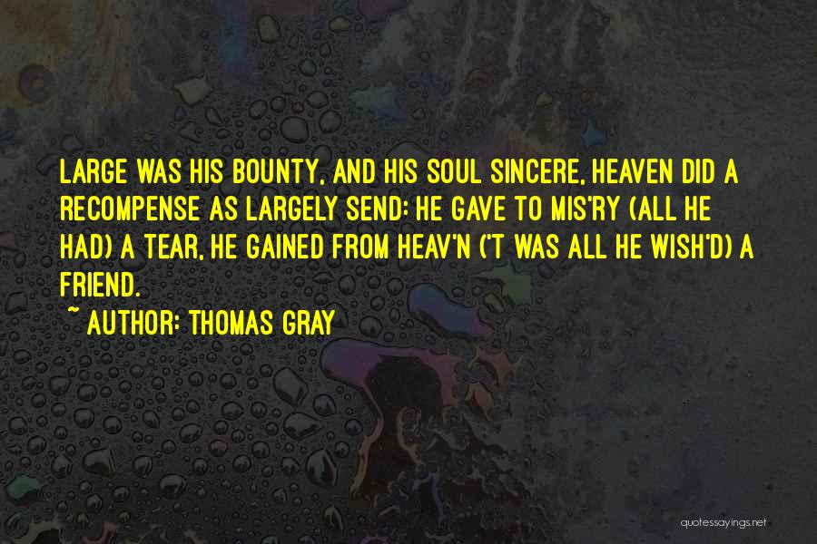 Thomas Gray Quotes 1553330