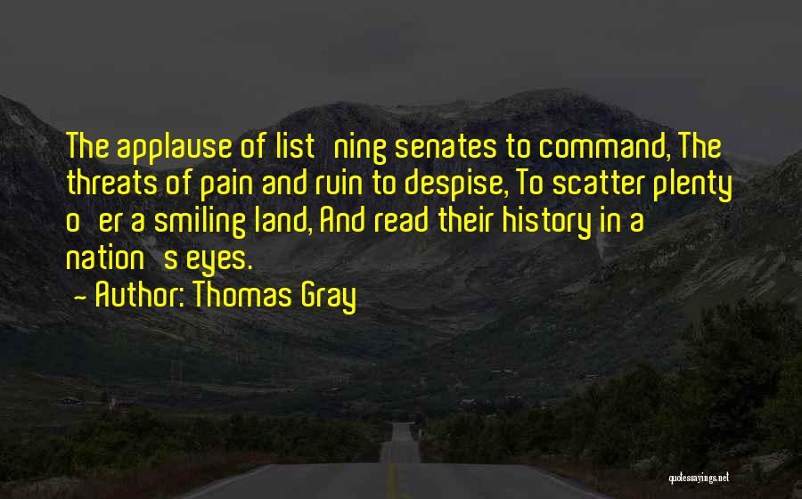 Thomas Gray Quotes 155668
