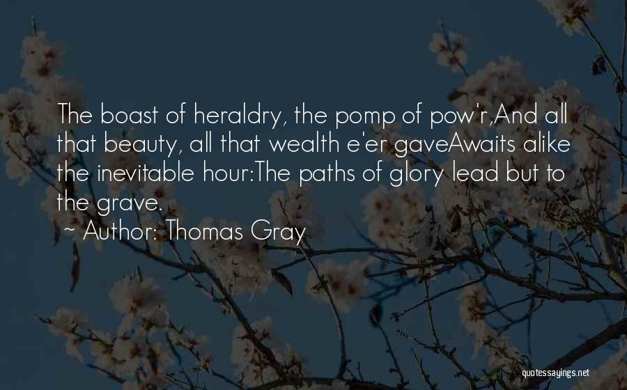 Thomas Gray Quotes 1602545
