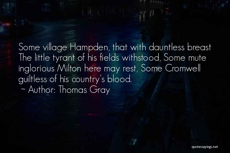 Thomas Gray Quotes 1859307