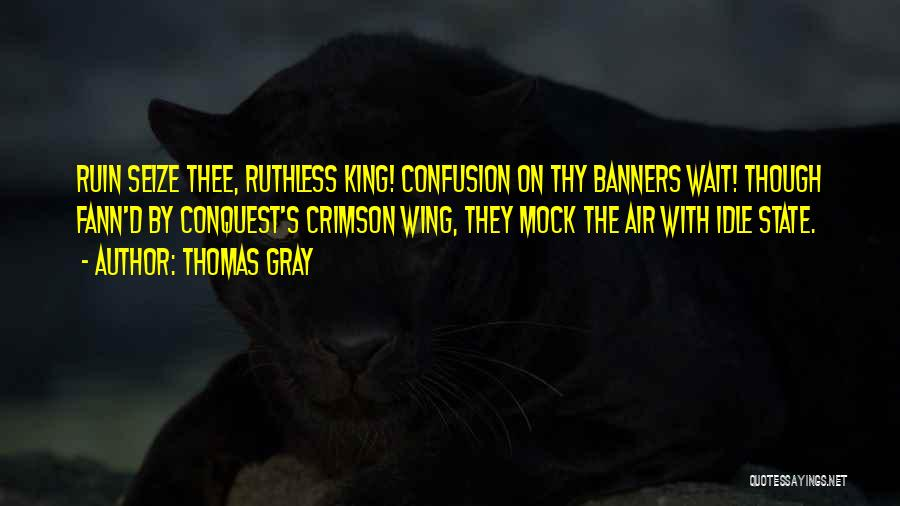 Thomas Gray Quotes 326888