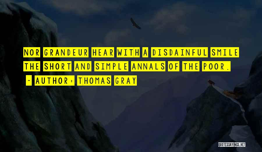 Thomas Gray Quotes 336048