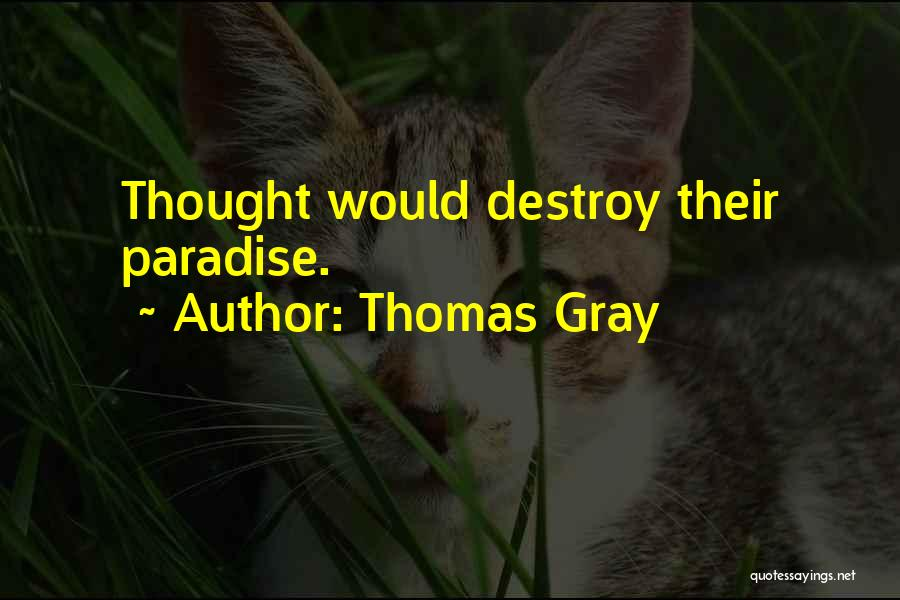 Thomas Gray Quotes 356202