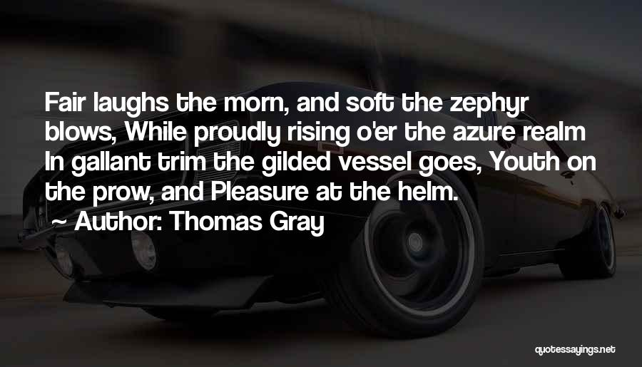 Thomas Gray Quotes 441853
