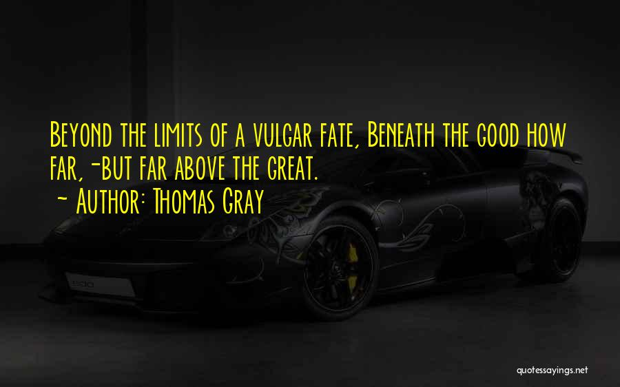 Thomas Gray Quotes 712234