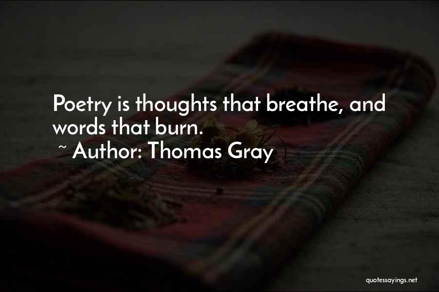 Thomas Gray Quotes 763865