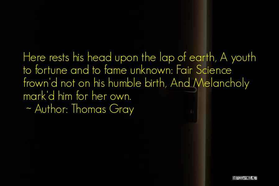 Thomas Gray Quotes 993556