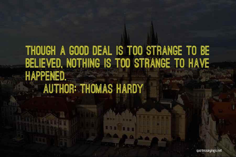 Thomas Hardy Quotes 253995