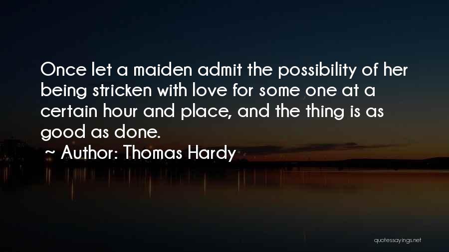 Thomas Hardy Quotes 695714