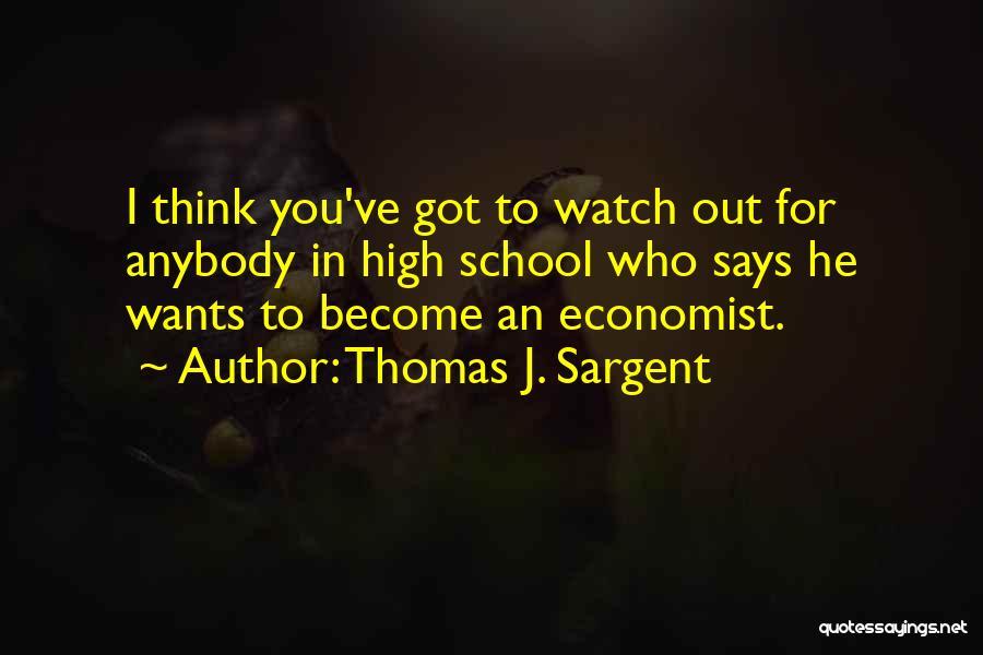 Thomas J. Sargent Quotes 2088922