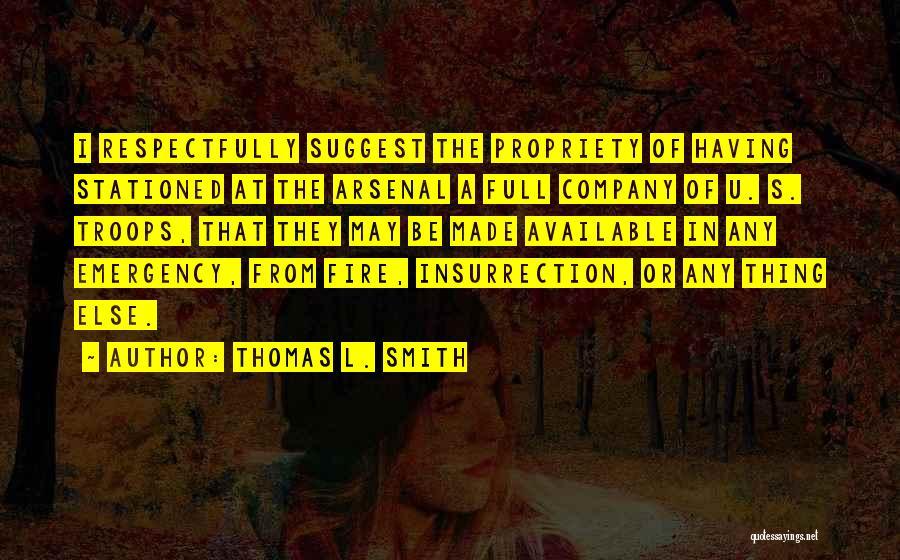 Thomas L. Smith Quotes 253120