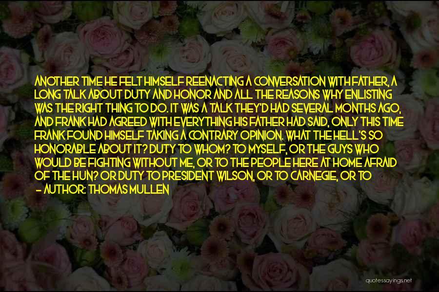 Thomas Mullen Quotes 1306098