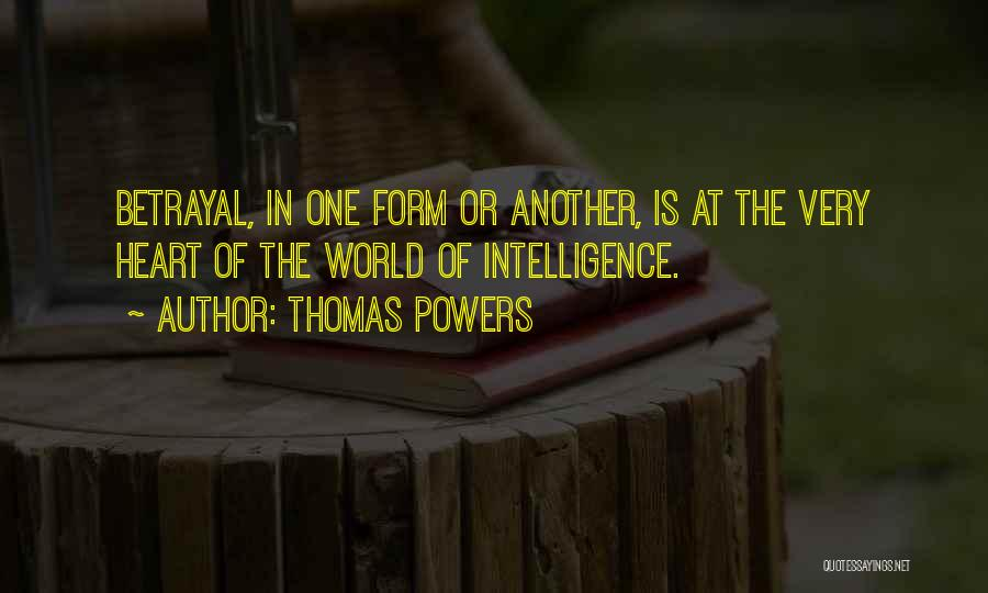 Thomas Powers Quotes 666029