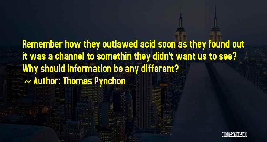 Thomas Pynchon Quotes 414640