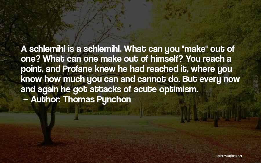 Thomas Pynchon Quotes 498809
