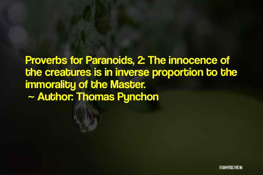 Thomas Pynchon Quotes 549154