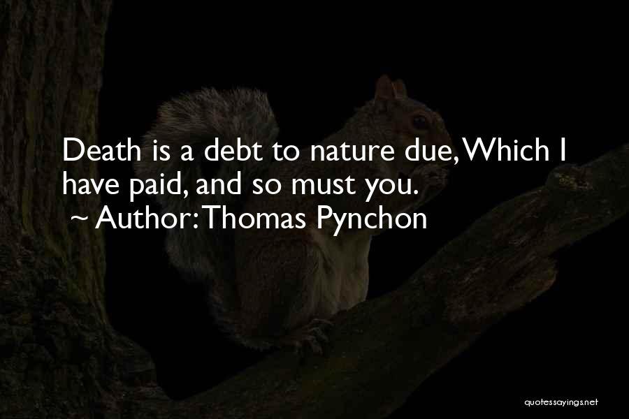 Thomas Pynchon Quotes 583921