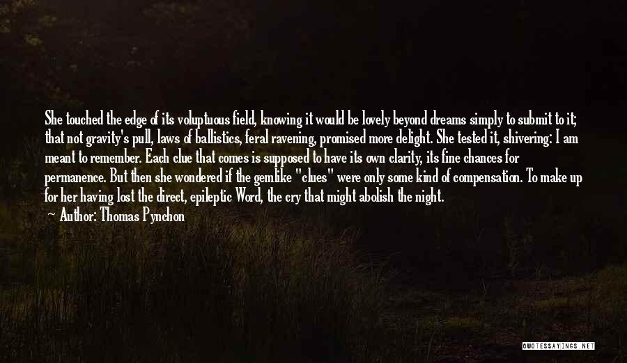 Thomas Pynchon Quotes 752411