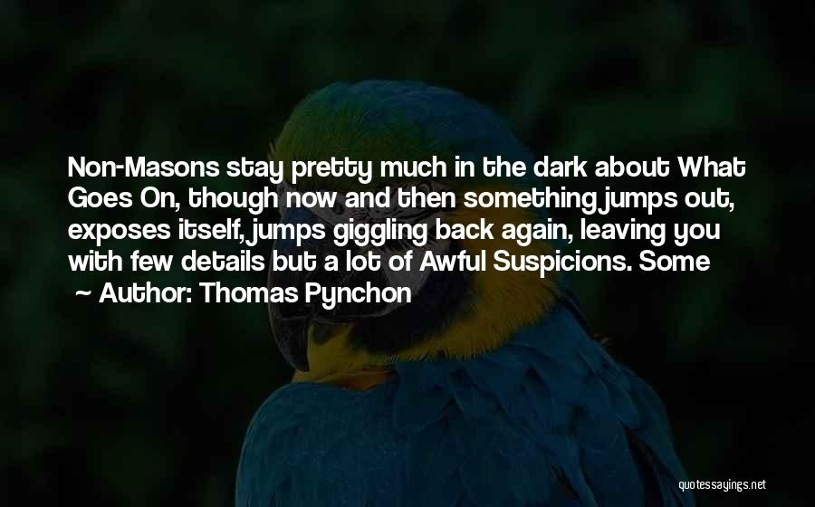 Thomas Pynchon Quotes 847971