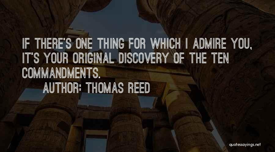 Thomas Reed Quotes 1441376
