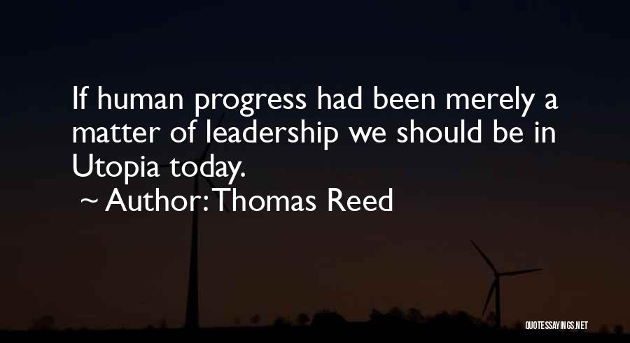 Thomas Reed Quotes 1571598