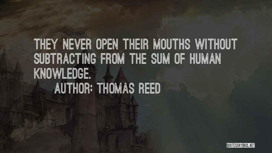 Thomas Reed Quotes 2088962