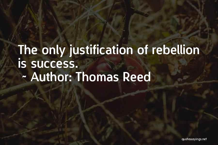 Thomas Reed Quotes 246566