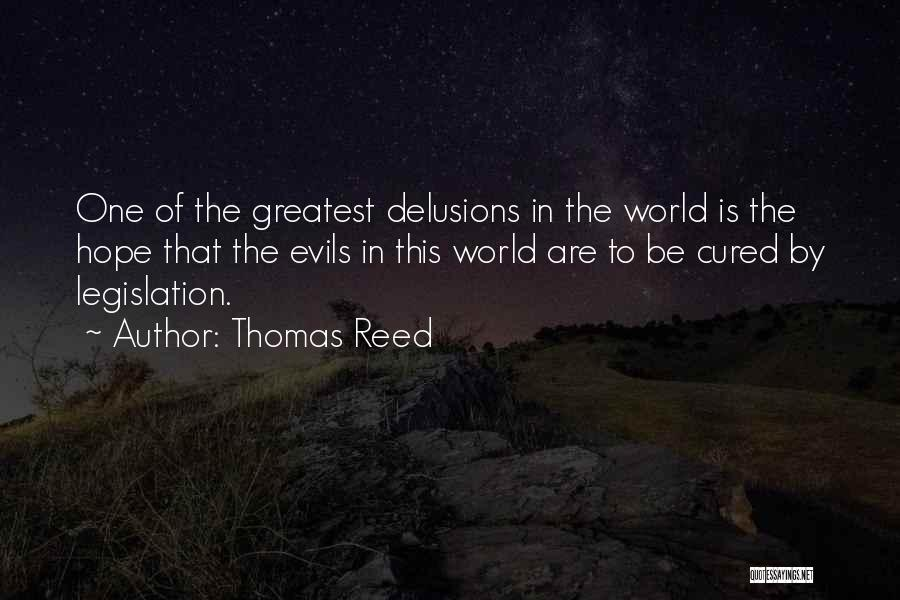 Thomas Reed Quotes 305918