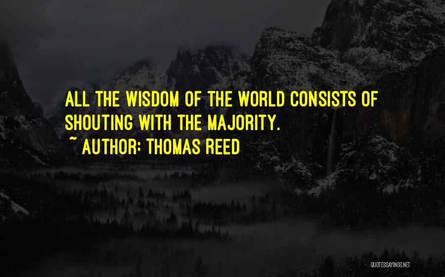 Thomas Reed Quotes 458939