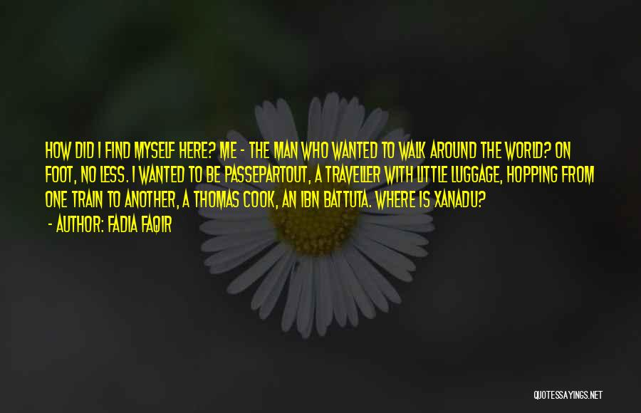 Thomas The Train Quotes By Fadia Faqir