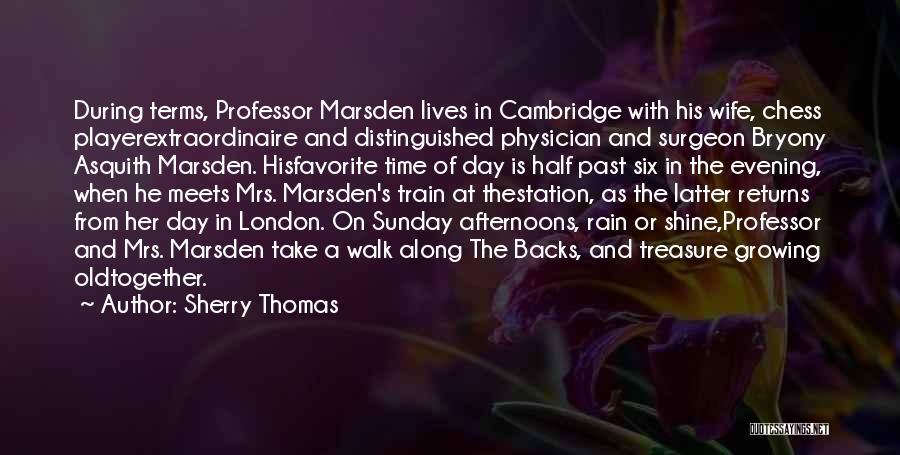 Thomas The Train Quotes By Sherry Thomas