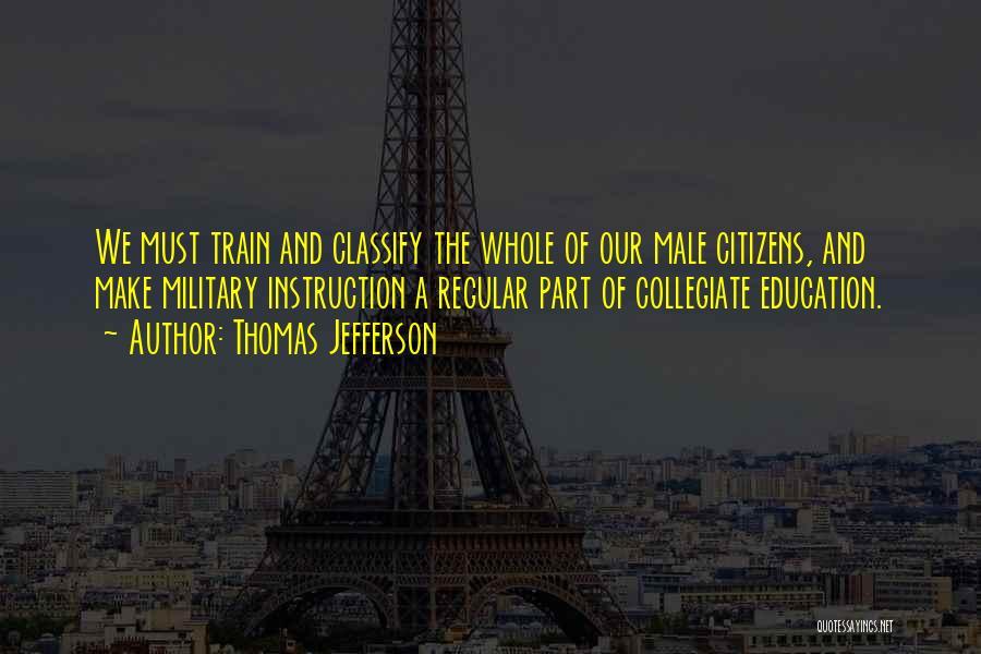 Thomas The Train Quotes By Thomas Jefferson