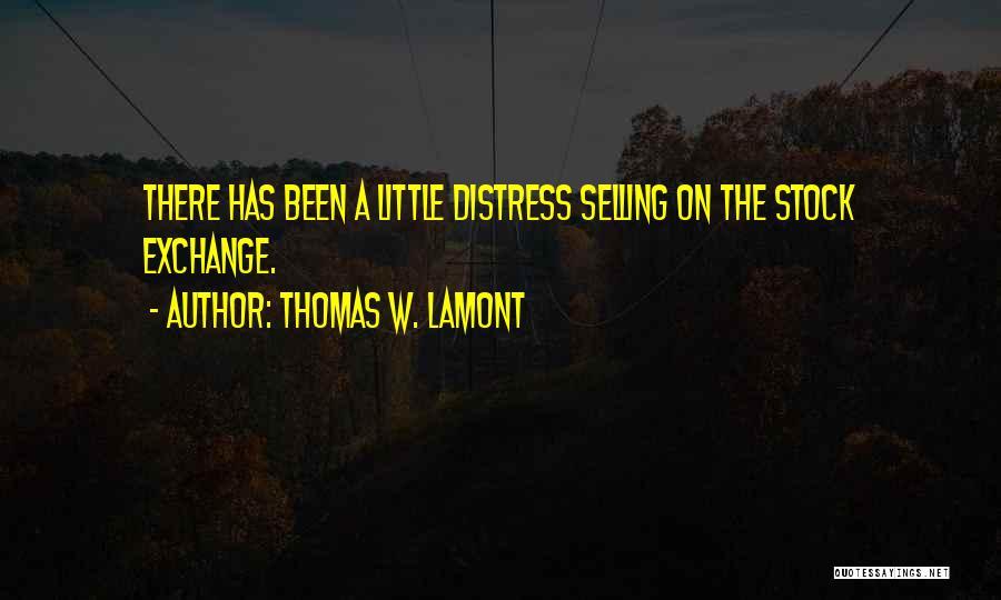 Thomas W. Lamont Quotes 421950